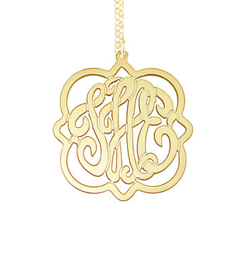 Atlantis Monogram Necklace