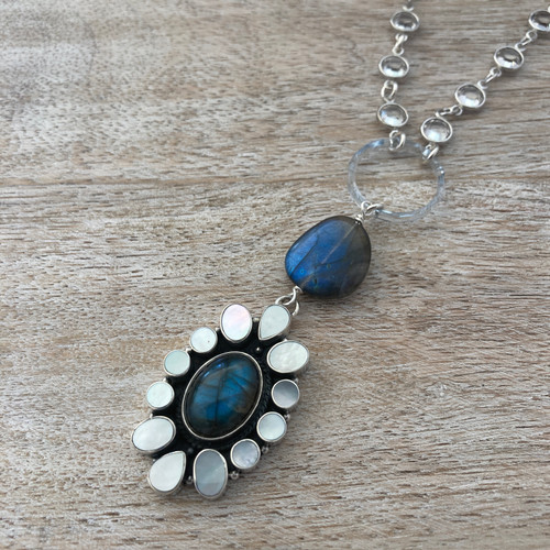 Labradorite and Mother of Pearl - 2