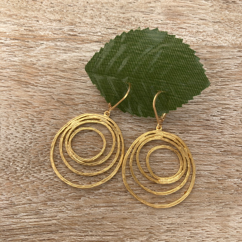 Swirls - Gold