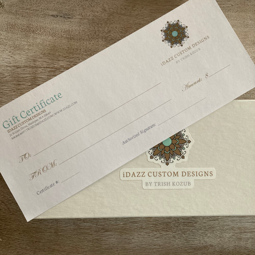 $75 Boxed Gift Certificate