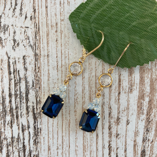 Vintage Navy and Opal ~ 1