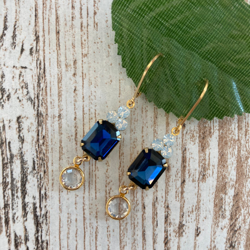 Vintage Navy and Opal ~ 2