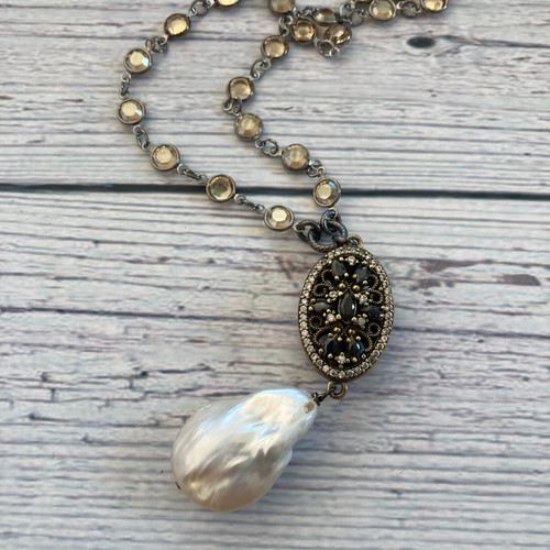 Turkish Focal with Baroque Pearl - 1
