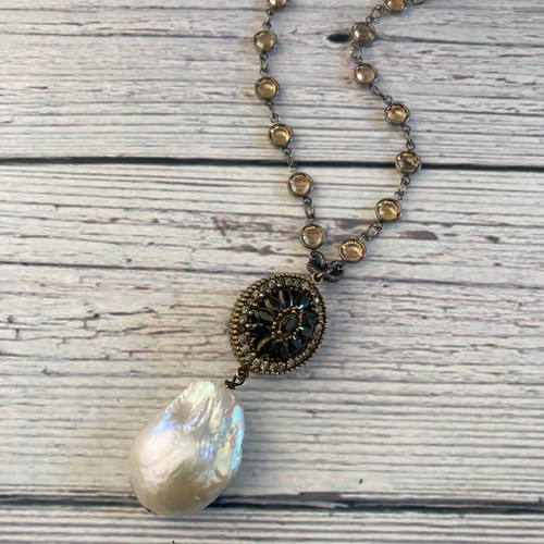 Turkish Focal with Baroque Pearl - 2