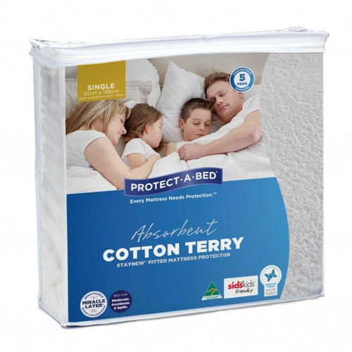 StayNew Single Mattress Protector
