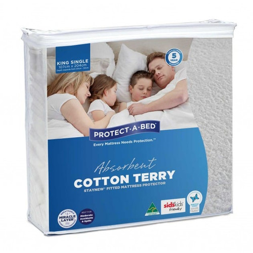StayNew King Single Mattress Protector