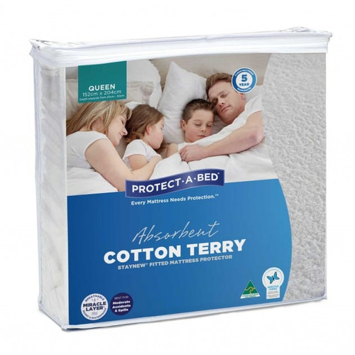 StayNew Queen Mattress Protector