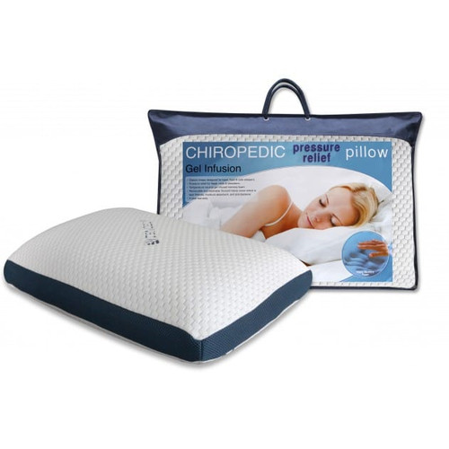 Chiropedic Pressure Relief Pillow Gel Infusion