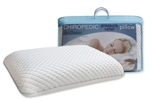 Chiropedic Pressure Relief Pillow Gel Classic