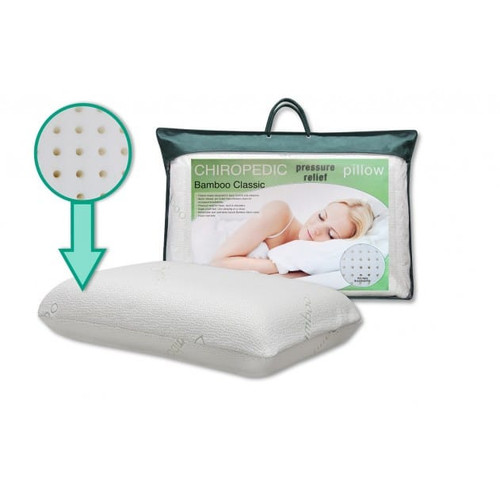Chiropedic Pressure Relief Pillow Bamboo Classic