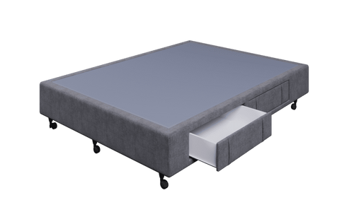 Braga Grey Queen Base With 4 Drawers