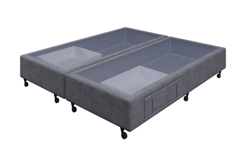 Braga Grey King Base With 2 Drawers