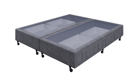 Braga Grey King Base With 4 Drawers