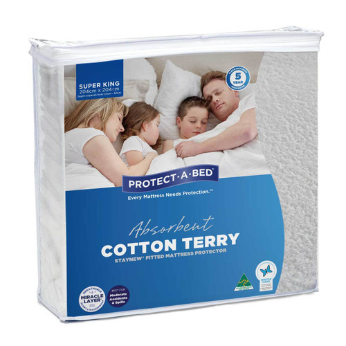 StayNew Super King Mattress Protector