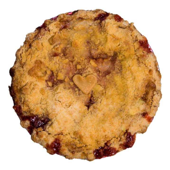 Apple Raspberry Crumb