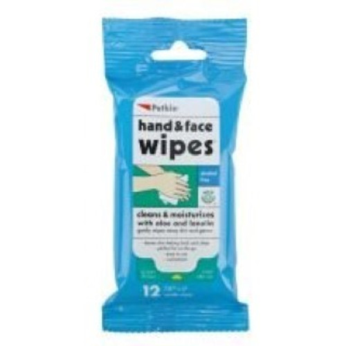 A handy pack of face and hand wipes for any pet ower to have with them when out and about. Quickly and easily freshen and clean up after handling pet waste etc.