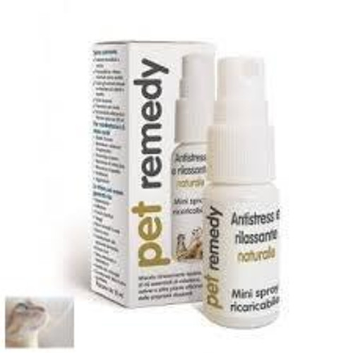 By using your pet's neuro-transmitters, Pet Remedy Natural De-Stress and Calming Spray helps pets stay calm and fight anxiety during stressful times. Results can be seen and felt immediately after application. Calms pets but does not sedate them. Affective on large variety of pets such as birds, cats, dogs and even horses. Made from all natural ingredients.