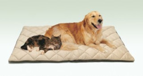 Flectabed Q uses a new lightweight insulating material specifically designed for its thermal properties to keep your pet warm and cosy all year round, without the need for electricity. Synthetic Modern