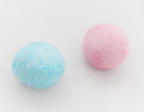 Soft play balls for hours of cat fun. Ideal for cats that like quiter playtime.