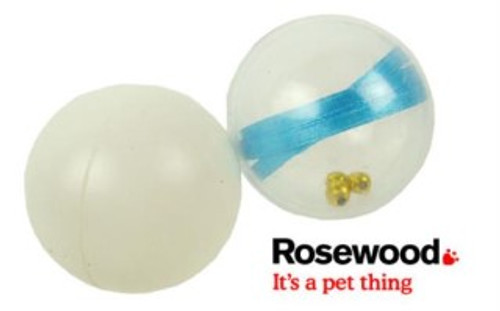 A great pair of ping pong cat balls from rosewood. All cats love the fun of the chase and bounce of these balls. hours of cat fun