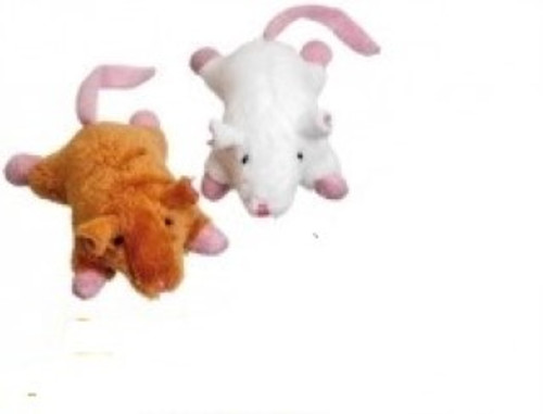 These plush mice from Karlie  are ideal for cat playtimes. With catnip Soft plush toy Durable and sturdy