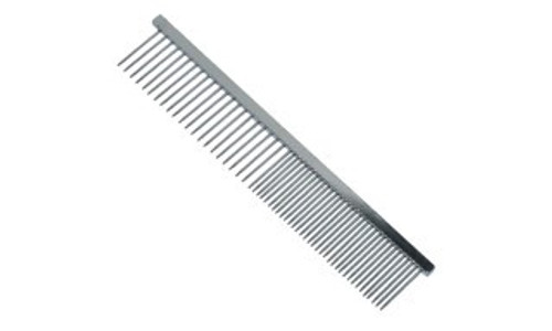 Wahl Metal Pet Comb, 15 cm/6 inch Stainless steel -Features both wide and narrow teeth for effective grooming.