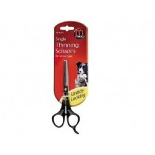 Great for thinning your pet's coat Suitable for all coat types Precise cutting blade for great results With finger rest for extra comfort