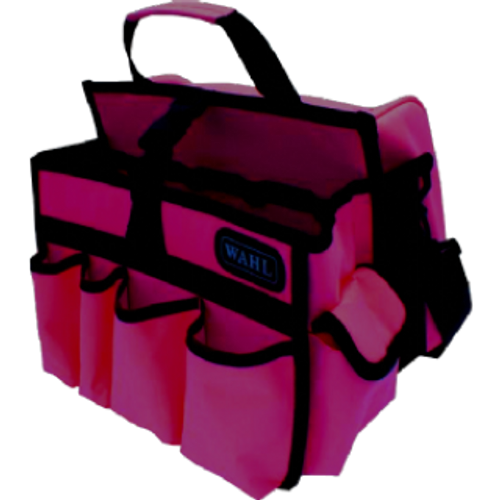 Grooming Bag - Hot Pink Multi compartment storage with an attractive, bright and colourful it brings a smile to everyone's face . Helps to keep all your pet's belongings in one safe place.