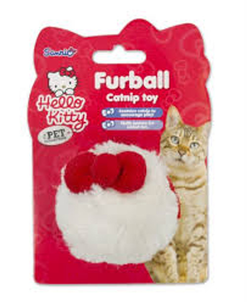The perfect interactive way to play with cats.  infused cat nip added crinkles for that extra added fun Hello Kitty branded