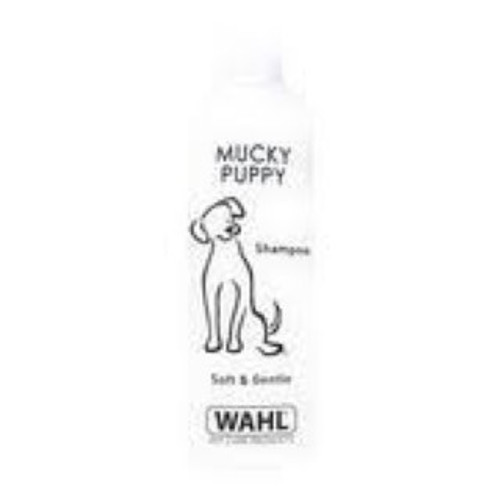 Gentle cleansing shampoo. Based on natural ingredients and contains no harmful detergents or cleansers. Formulation contains Aloe Vera gel for extra sensitive skin. Mucky Puppy Shampoo is a ready to use gentle cleansing shampoo specially formulated to be extremely gentle on your animal's coat, whilst leaving it clean and easy to brush.