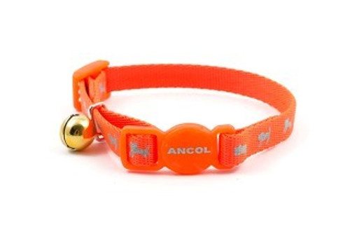 Keep track of kitties with the Hi-Vis kitten collar. With a thinner strap to suit kittens and small cats. Also a reflective kitten pattern to keep your cat safe in low light.  Ancol cat collars feature either Safety Elastic or a Safety Buckle, so cats are safe to roam outdoors without the danger of getting caught and trapped.  Larger and louder than ever before, the Superbell warns off potential prey to reduce the number of small animals and birds caught by outdoor cats, and makes cats more audible to their owners when nearby.