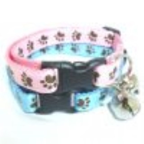 simply purrfect hand stitched cat collars for the feline in your life. part of the cat collar range sold here at Elliotspetwarehouse