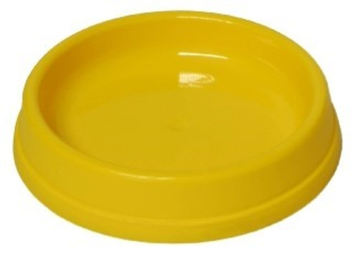 A bright colourful plastic cat dish available in a choice of colours and sizes.
