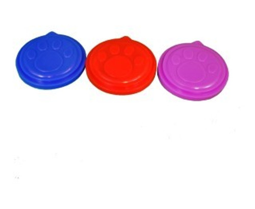 A great basic to have around the kitchen . Each plastic lid cover keeps an opened  standard tin of dog or cat food covered and safe.