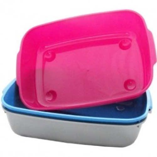 Armitage Goodgirl Cat Litter Tray Large  Large plastic cat litter tray with rim.  Easy to clean and dishwasher proof