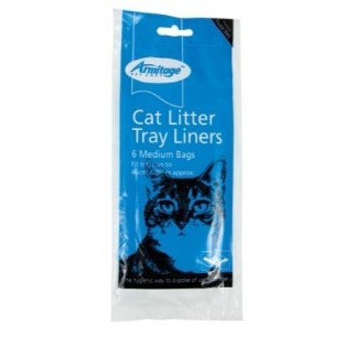 Armitage - Good Girl Cat Litter Tray Liners, Medium The hygienic way to dispose of cat litter Contains twist ties|Fits trays up to 46cm x 38cm