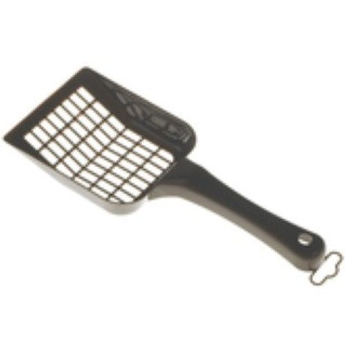 A great v laue toilet litter tray scoop from Sharples and Grant . Part of the litter tray and accessory range at Elliotspetwarehouse