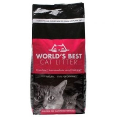 Worlds Best cat litter 100 percent natural , 110 percent performance , quick clumping Outstanding  Odour Control and long lasting