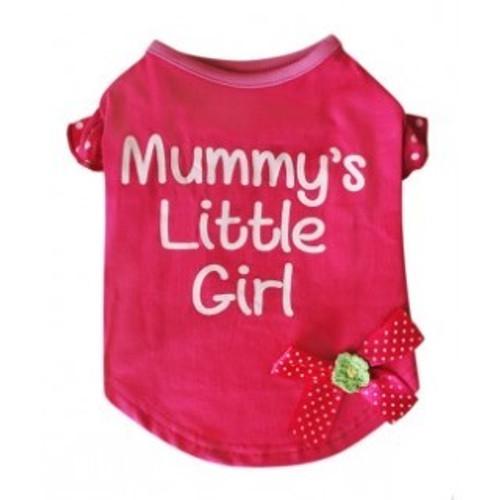 Brand New 100/% Cotton Pet Dog Clothes Apparel Cute Pink T-shirt A624