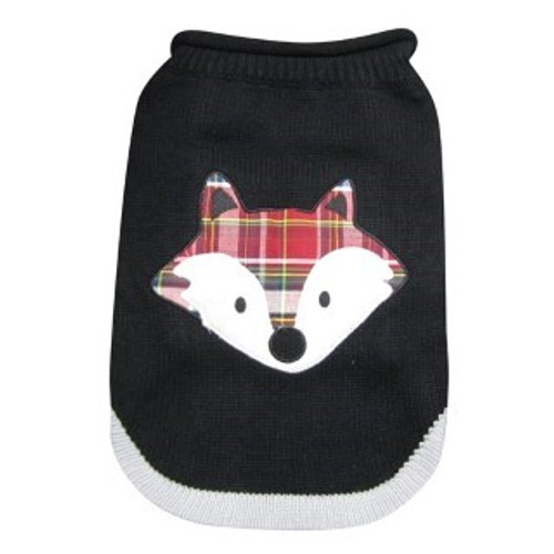 Dogit Festive Dog Sweater - Fox Design is a beautiful festive knitted jumper featuring a cute fox design that's sure to make your dog stand out from the crowd t Features a dog leash hole for convenience when its time for walkies.