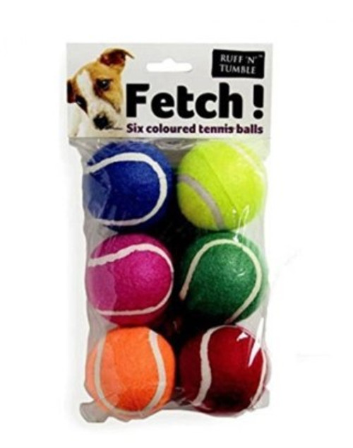 Fetch tennis balls. For throw and fetch games with your pet. 100% Mixed Wipe clean. Modern