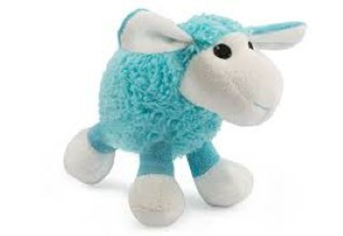 Ancol Small Bites Blue Lamb Puppy Toy Complete with squeaker, ideal for puppies and small dogs Please Note: This toy is not indestructible. Please supervise your pet when they are playing with it. These beautiful soft and cuddly small bite plush lambs are great as a puppy comforter or for small dogs to carry around!  Also features a squeaker for added fun!
