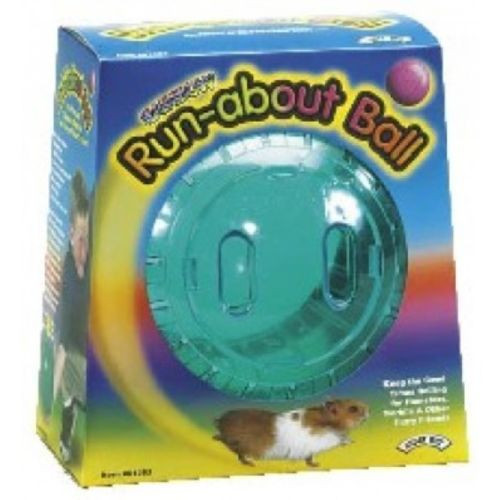 Orabge standard sized hamster ball of high quality plastic by Superpets, Part of the special purchase zone range for ppets at Elliotspetwarehouse