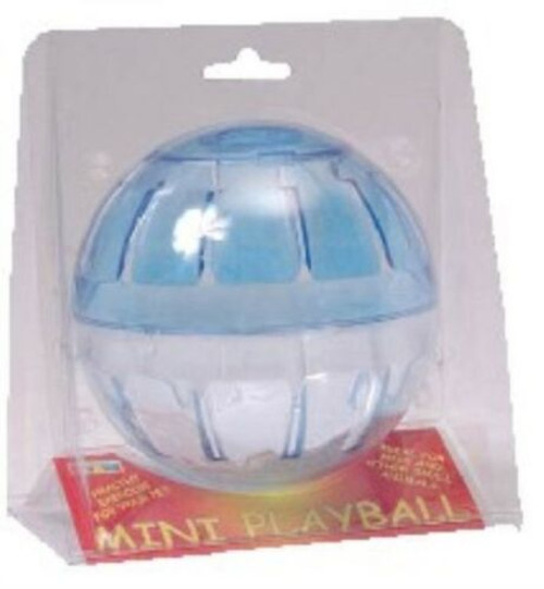 A mini playball in red for mice and dwarf hamsters. Part of a special purchase range here at Elliotspetwarehouse
