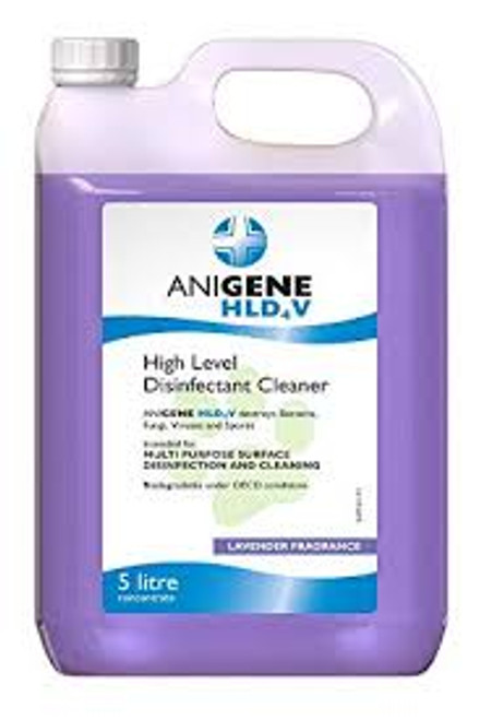 The synergistic blend of active and inert ingredients enables ANIGENE HLD4VND to work quicker than conventional High Level Disinfectants and ensure that apoptosis (cell death) is achieved rather than merely suspending activity as with conventional products. Wash down floors, walls and animal habitats (unoccupied) at a dilution of 1:100.  DEFRA approved* Spray or wipe down grooming tables and workstations at a dilution of 1:50.