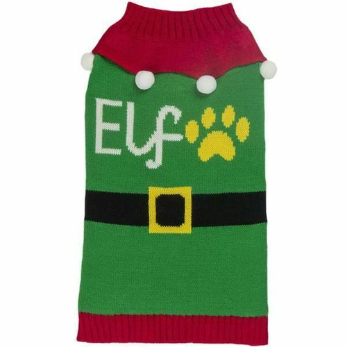 A great Christmas jumper for all dogs. Part of the range of dog products at elliotspetwarehouse