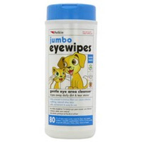 Petkin Jumbo Eye Wipes for Cats & Dogs