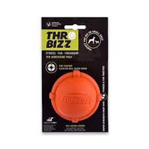Pure rubber, hollow design means that this ball is non-toxic and treat friendly so can be stuffed with your dogs favourite kibble. Super strong ball with 8mm thick wall. Great for water loving dogs