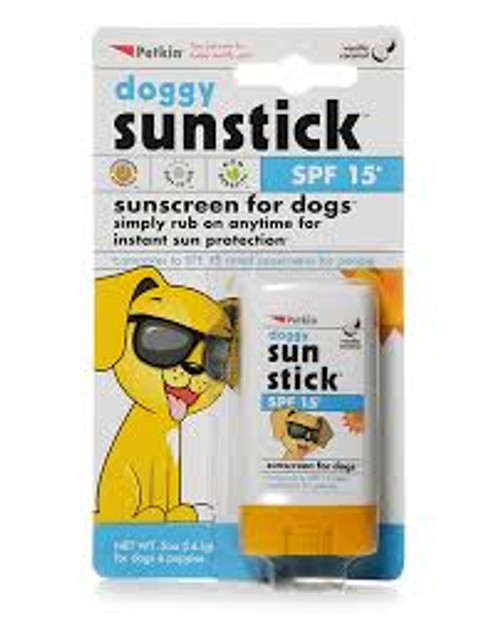 Protect your dog from the sun's harmful ultraviolet rays Compares to SPF 15 rated sunscreens Gentle, non-greasy stick formula