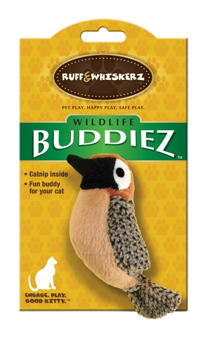 Product Features Wildlife Buddiez give your cat the chance to hunt for animals found only in the wild The catnip inside makes this toy an energy buddy for your cat